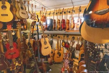 TOP-QUALITY GUITARS AND BANJOS